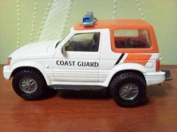 Масштабная модель Mitsubishi Pajero Coast guard.