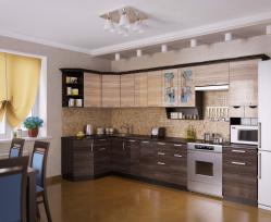 Кухня Венеция-4 Угловая, правая - левая