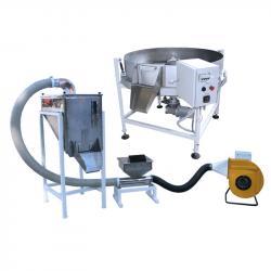 Комплект оборудования для жарки семечек, орехов, кофе, сои