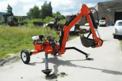 Мини-экскаватор прицепного типа Mini Digger-2500.