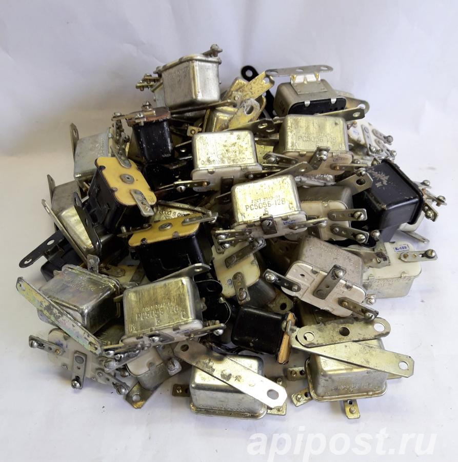 Реле сигнала РС505Б для ГАЗ-24, УАЗ, ЗИЛ, УРАЛ, ИЖ и тд - МОСКВА