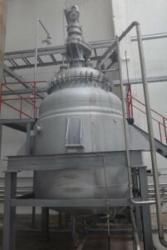 Реактор эмалированный, объем -10 куб. м. , с рубашкой и ...