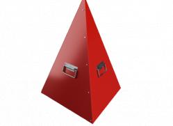Пирамиды для пожарного гидранта