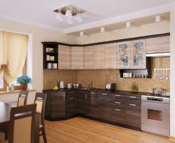 Кухня Венеция-3 Угловая, правая - левая