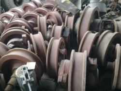 Закупаем крановые колеса к2р к1р размеры от 320мм до 980мм.