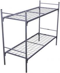 Двухъярусные кровати, Кровати металлические трехъярусные
