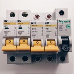 Автоматические выключатели - в СПБ