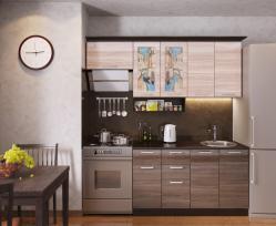 Кухня Венеция-2, правая - левая