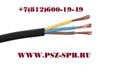 ПВС 4х0.75 черный- изоляция оболочки и самих проводников из ...