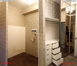 Гардеробные комнаты и шкафы модульные, сетчатые.