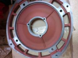 Задний щит для корпуса подъемного электродвигателя тельфера