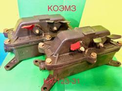 Посты трехкнопочные КУ 123-31, КУ 123-32, КУ 123-33