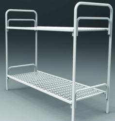 Кровати металлические для гостиниц, бытовок