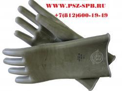 Перчатки диэлектрические шовные дилер