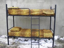 Металлические двуспальные кровати