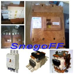 ВА 5541 1000А стационарный с электромагнитным приводом