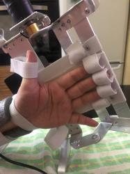Восстановление пальцев тренажером Бутон - новое.