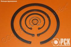 Кольца пружинные по ГОСТ из стали 65Г, 60С2А, нержавейки