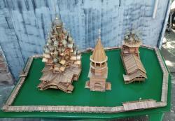 Модель макет ансамбля КИЖИ