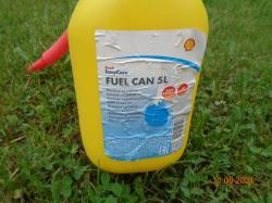 Канистра SHELL 5 литров для бензина