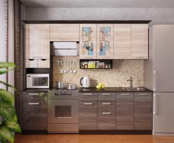 Кухня Венеция-4, правая - левая