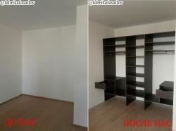 Мебель корпусная по индивидуальным размерам.