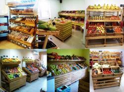 Стеллаж ECO 201 для овощей , фруктов, хлеба и тгд