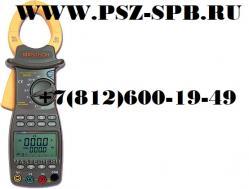 MS2203 клещи токоизмерительные, измеритель мощности