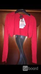 Кофта рукава etincelle франция 44 46 м новая красные