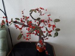 Декоративный искусственный цветок для интерьера