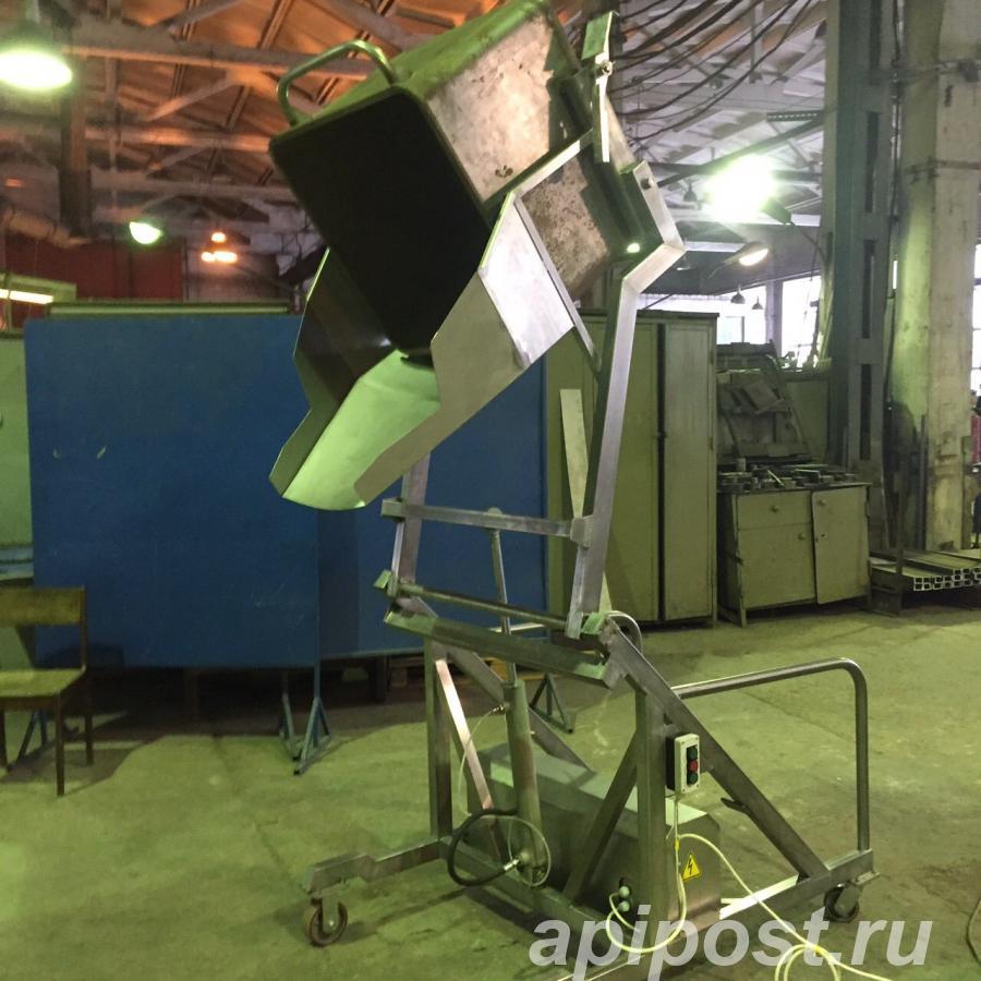 Подъёмник - опрокидыватель гидравлический, передвижной - МОСКВА