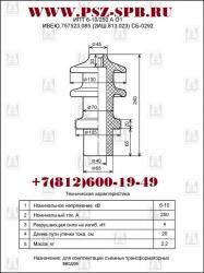 Изолятор проходной неармированный ИПТ-6-10 250А. 01