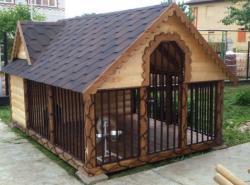 Строим вольер для крупных собак