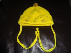 Теплый шарф и шапочка для ребенка