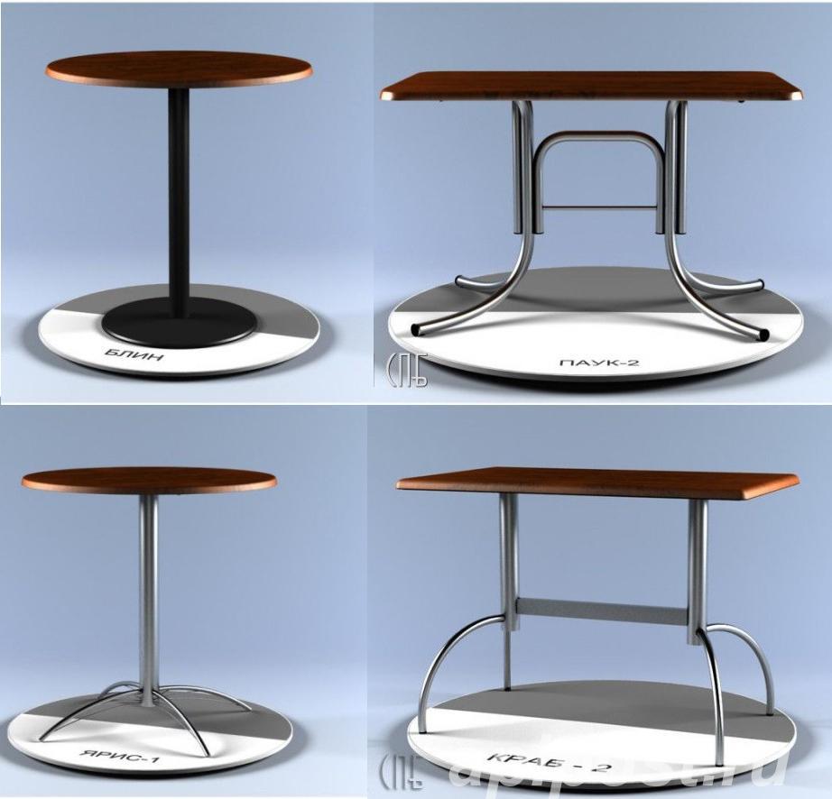 Столы, подстолья и столешницы для столов. - САНКТ-ПЕТЕРБУРГ