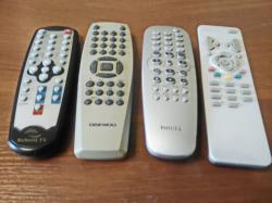 Пульты ДУ для телевизоров и другой техники.