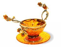 Чашка чайная Малиновка