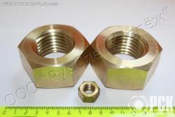 Латунный и бронзовый крепеж Л63, БрКмц3-1, крепеж
