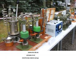 Испытание противогазов в Санкт-Петербурге