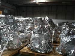 Герметичная упаковка оборудования для перевозки ...