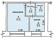 Продам 1-комнатную квартиру 22 м², 2/5 эт