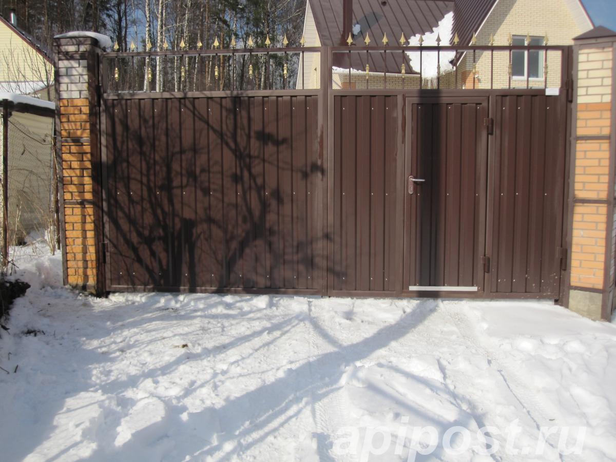 Услуги сварщика на выезде, ворота на дачу - САНКТ-ПЕТЕРБУРГ