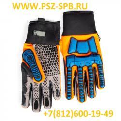 Перчатки электромонтажника усиленные, серия ПРОФИ С-37L