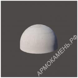 Бетонная полусфера d500хh250 мм парковочный ограничитель