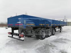 Полуприцеп бортовой НефАЗ, 2021