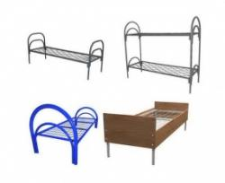 Кровати металлические оптом, двухъярусные кровати дешево