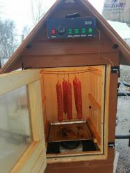 Коптильня горячего и холодного копчения