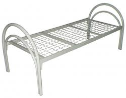 Кровати металлические одноярусные с металлическими сетками