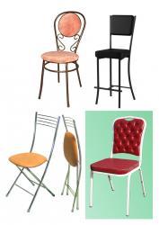 Складные стулья Хлоя и другие модели.