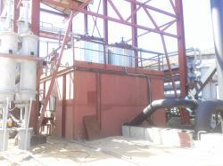 Оборудование для получения легкой нефти из отходов.